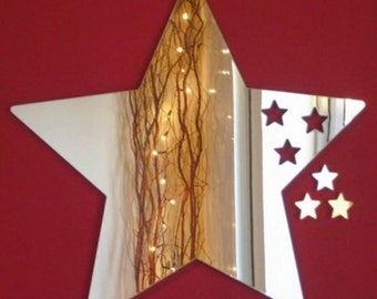 Stars out of Star Mirror - 5 Sizes Available