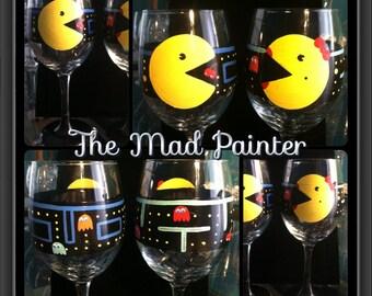 Pacman Wine Glass