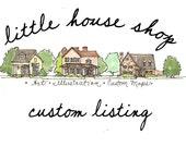Custom Listing - Vintage Style Map