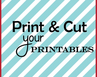 Printable Printing and Cutting Service