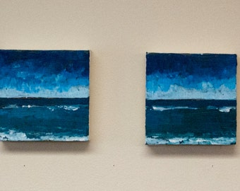Ocean scene painting  tripditch