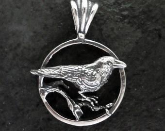 Poe Raven Pendant