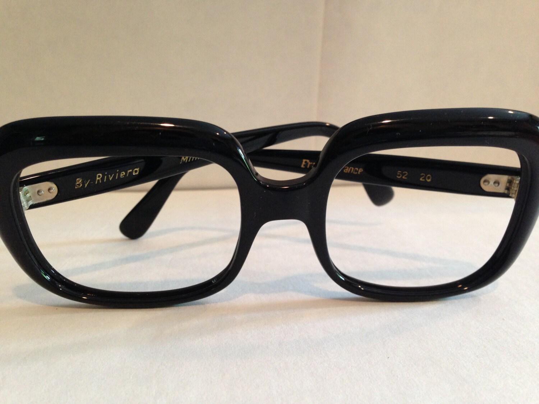 Vintage Eyeglass Frames New Old Stock : Vintage Riviera Eyeglasses New Old Stock 1960s