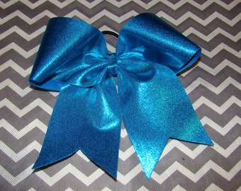 Turquoise Mystic Cheer Bow