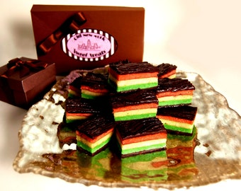 Best Italian Rainbow Cookies