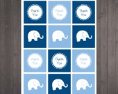 PRINTABLE Elephant Thank ...