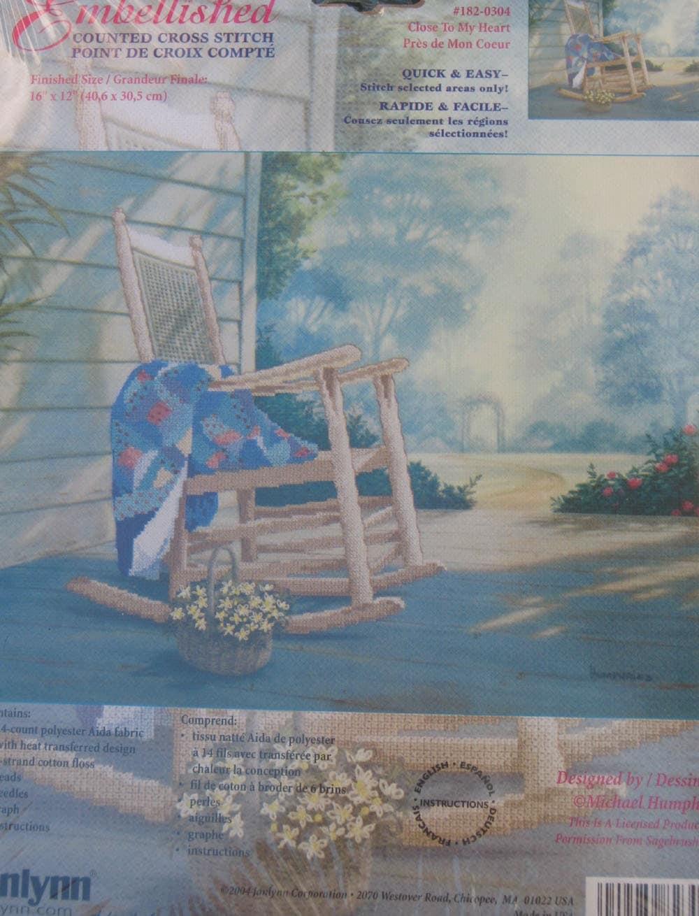 Sedia a dondolo sul portico impreziosito kit di for Kit portico anteriore in vendita