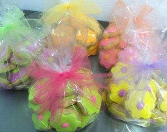 Mini Flower Sugar Cookies  5 dozen