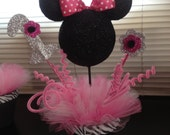 Minnie mouse centerpieces and goodie bags for any occasion