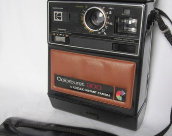 Vintage Retro  Kodak Colorburst 300 Instant Camera, Father's day Gift