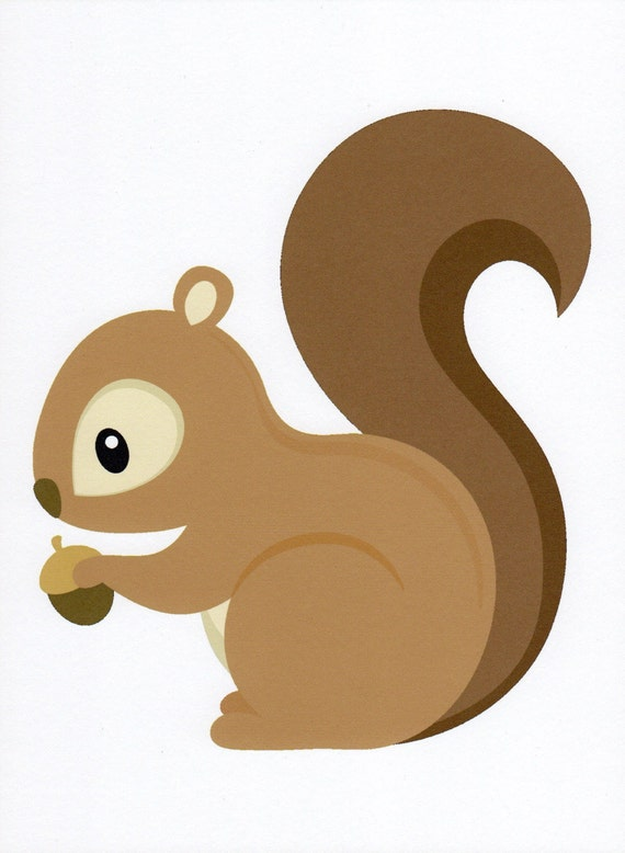 clip art cartoon squirrel - photo #28