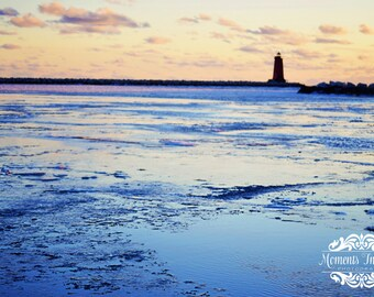 Beautiful Manistique lighthouse print.