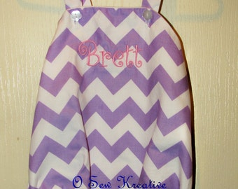 Purple Chevron Bubble, Baby Bubble