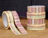 "Prima ""Sunrise Sunset"" Washi & Fabric Tape Set - Printed Tape - 2 Rolls"