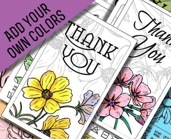 Line Art Thank You : Thank you card printables black line art to by madmadgraphics
