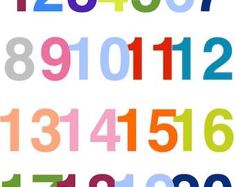 Numbers Artwork