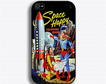 Retro Space Comic - iPhone 4/4S 5/5S/5C/6/6+ and now iPhone 7 cases!! And Samsung Galaxy S3/S4/S5/S6/S7