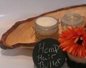 Natural Hair Hemp Seed Hair Butter, Moisturizer, PH Balanced,  8oz