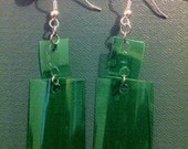 Recycled Soda Bottle Earrings