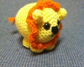 Stuffed Lion Toy