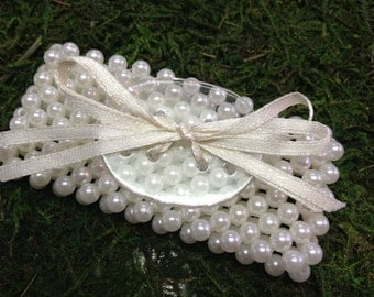Ivory Pearl Corsage Bracelet, Corsage Bracelet, Pearl Corsage Bracelet, Ivory Corsage Bracelet, Prom Corsage, Mother of the Bride Corsage