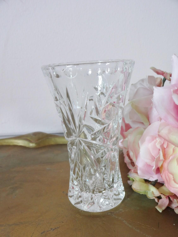 vintage lenox fine crystal bud vase shabby by annmariefamilytree
