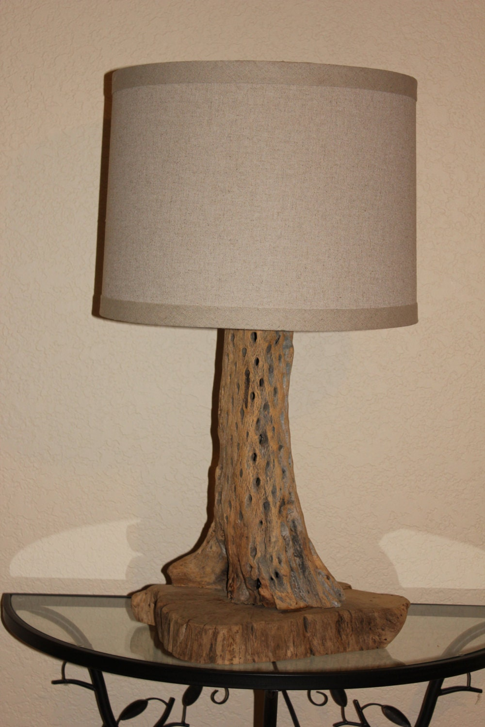 Cholla Cactus Table Lamp CHCTL 002 By DriftwoodandCactus
