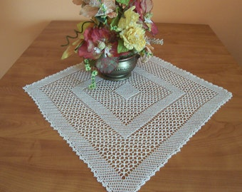 lozengeshaped doily