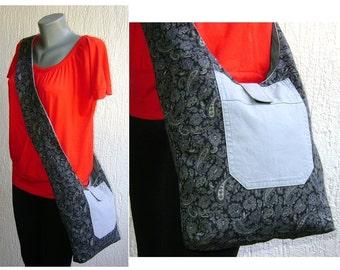 Paisley Reversible Shoulder bag