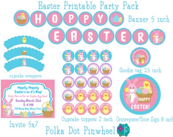 Easter Printable Party Pack
