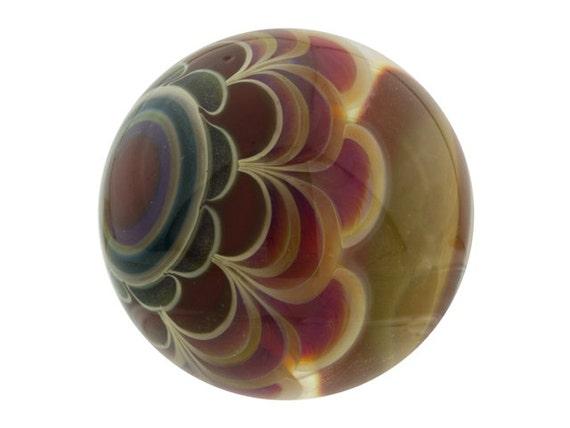 No. 3 Sparkle Dot Stack Borosilicate Marble