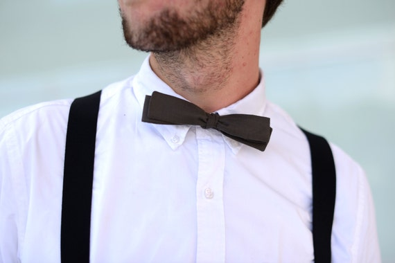 Items similar to Custom Skinny Straight Bow Tie ...
