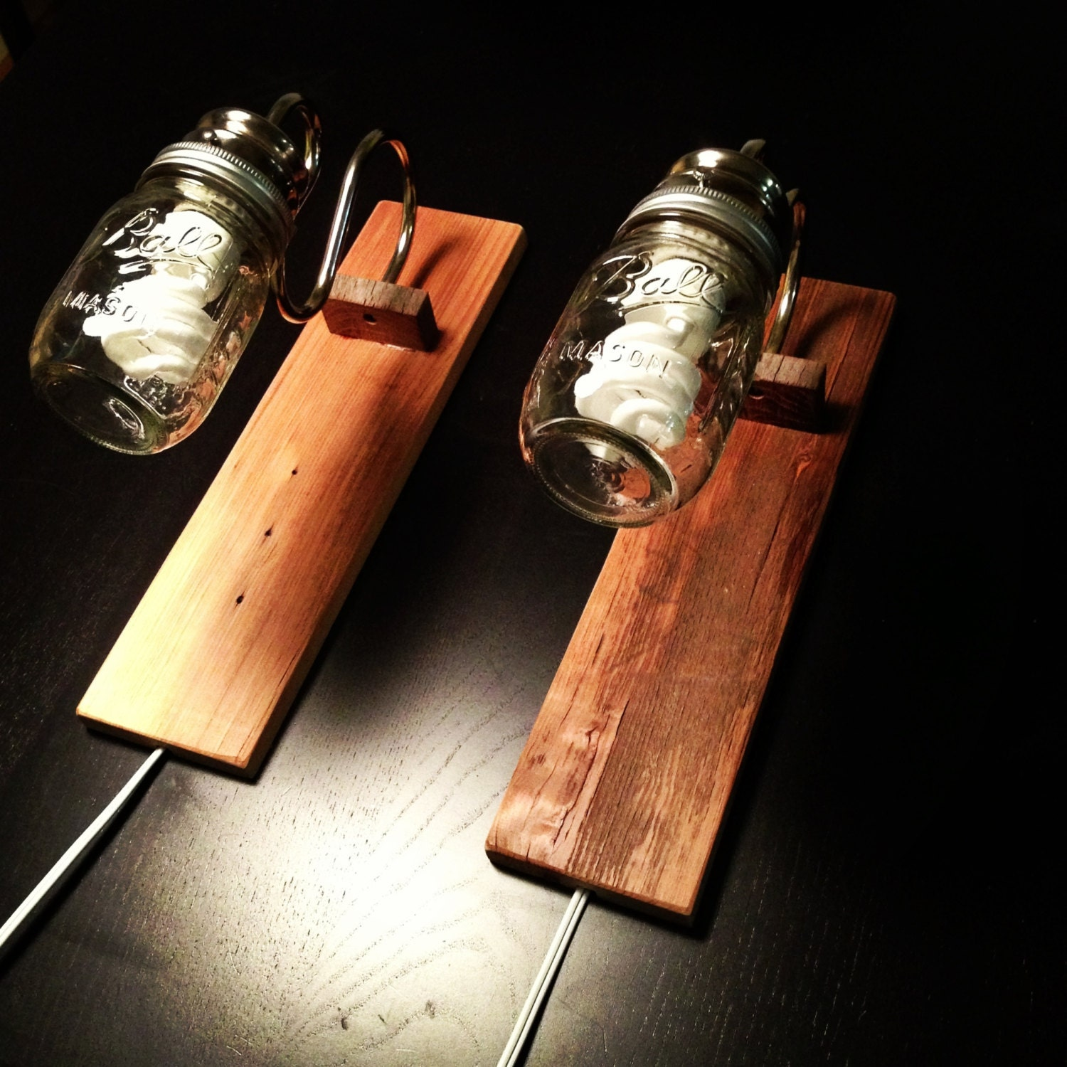 Rustic Bedside Wall Lamps : Etsy - Your place to buy and sell all things handmade, vintage, and supplies
