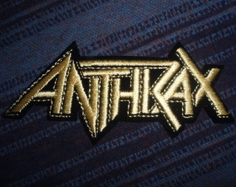 Anthrax - Patch - Heavy Metal - Collectible
