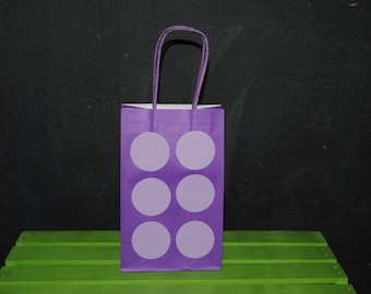 Block Favor Bags....Gift Bags Birthday Party