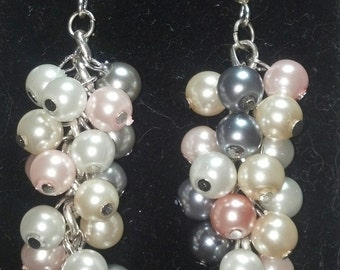 Glass Pearl Bundle Earrings