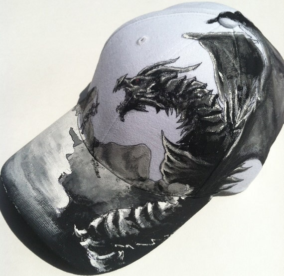 skyrim baseball hat mod cap theme dragon