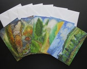 Fine Art Blank Notecards - Set of 6 Landscape Paintings