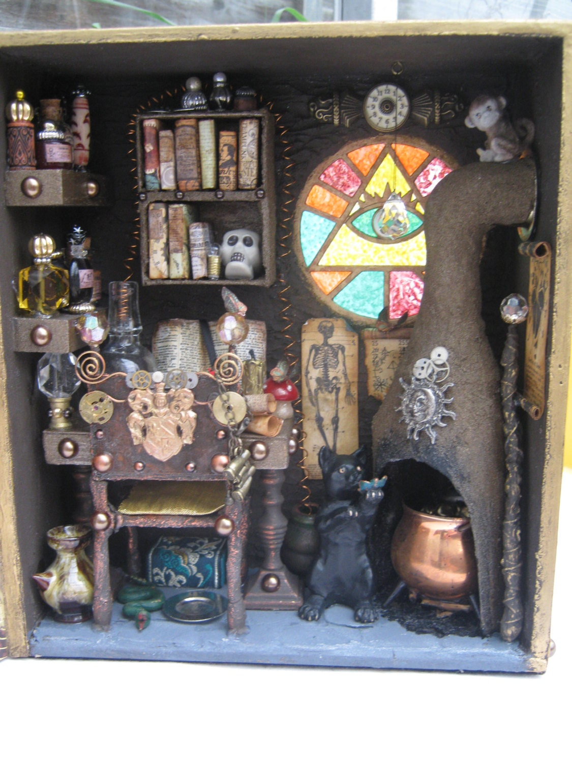 Items Similar To Magic Steampunk Alchemist Laboratory Mad