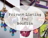 Private Listing for Bouflin