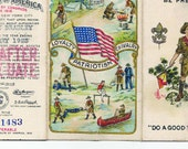 Boy Scout Membership Card 1923