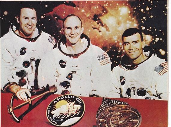Apollo XIII Crew Photo