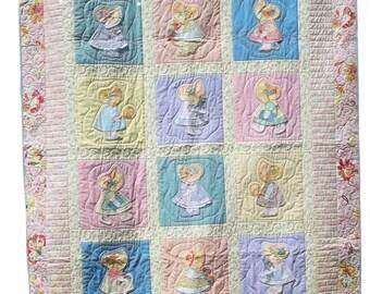 Sunbonnet Sue Simply Sue Quilt Pattern