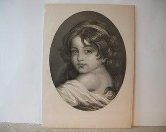 Jean Baptiste Greuze Engraving