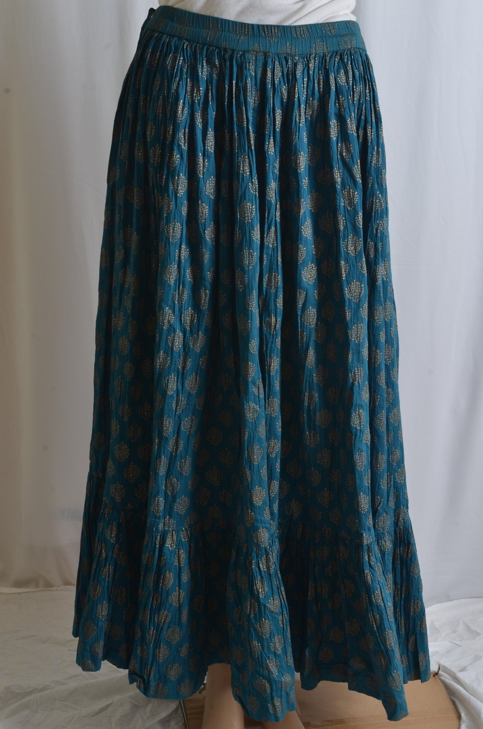 vintage indian maxi skirt skirt bohemian by