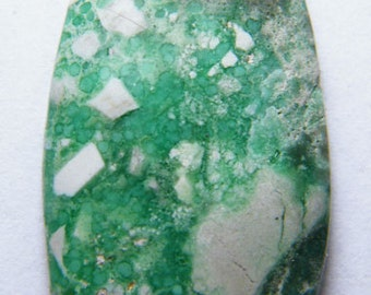 Beautiful variscite cabochon  (E0324)