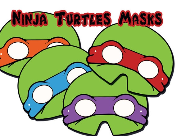 Gallery For gt Ninja Turtle Mask Printable