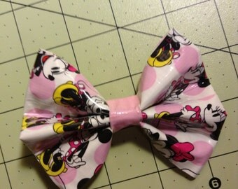Duck Tape Bow- Minnie Mouse