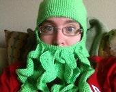 Cthulhu bearded hat