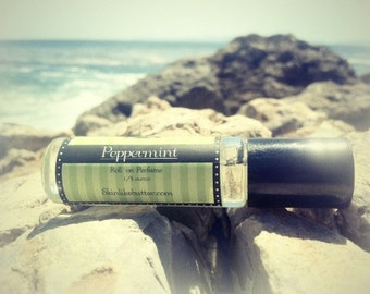 PEPPERMINT Perfume oil ,  Essential Oil, get 25% off your FIRST order, Birthday Gift, available in spray or roll on perfume